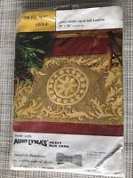 "Vintage ""Toltec Sun"" Aunt Lydia's Punch Needle Rug Foundation Kit"