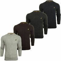 Brave Soul 'Maoism' Mens Cable Knit Jumper