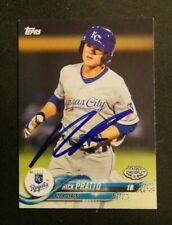 2018 Topps Pro Debut, AZL Royals - NICK PRATTO - Autograph
