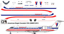 American Eagle  CRJ 200 decals for Welsh 1/144 kit