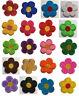 Blumen Aufnäher / Aufbügler Bügelbild Kinder Applikation flower patch flowers