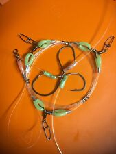 TOP SNAPPER HAND MADE 100LB RIGS JIGS ULTIMATE 3 HOOKS 6/0 8/0 BEAKS 7/0 CIRCLE