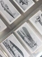 "R J Hill Cigarette Cards 1934 ""Aviation Series"" Full Set 25"
