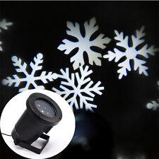 LED Laser Lamp Snowflake Spot Light Shower Outdoor Landscape Projector 9129HC