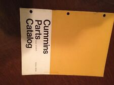 CUMMINS PARTS MANUAL CATALOG DIESEL ENGINE NT 335 IP TRUCK SEMI