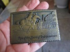 Vintage RISE OF THE SPIRIT OF INDEPENDENCE Belt Buckle