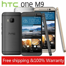 """5.0"""" HTC One M9 Factory Unlocked 4G Andriod Smartphone 20MP Gold Colours 32GB"""