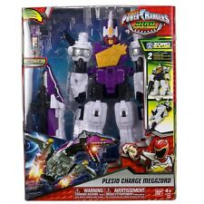 Power Rangers Dino Charge Super Charge Plesio Megazord Figure & Dino Charger