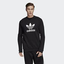 adidas Trefoil Crew Sweat-shirt Schwarz/weiß s