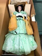 Franklin Mint Heirloom Dolls Scarlett O'Hara Vivian Leigh Gone with the Wind
