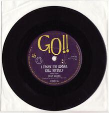 BILLY ADAMS - I THINK I'M GONNA KILL MYSELF Ultrarare 1965 Aussie BEAT Single!
