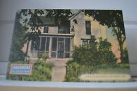 C 1942 Home of Bob Burns - Van Buren Arkansas Postcard