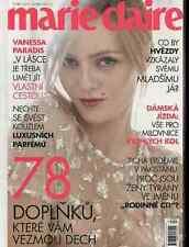 VANESSA PARADIS Full-Cover edition czech Fashion Mode Magazine MARIE CLAIRE