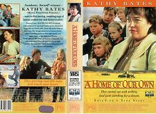 A HOME OF OUR OWN - Kathy Bates -VHS -PAL-NEW-Never played!! Original Oz release