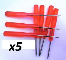 Lot x5 Five Point 0.8 Pentalobe Screwdriver for Apple iPhone Repair