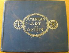 AMERICAN ART AND ARTISTS 1894 Edition Deluxe 1100 Illustrations Jones VERY RARE!