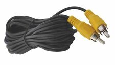 5 Metre Video Cable for Rear View & Reversing Cameras RCA Phono Plugs