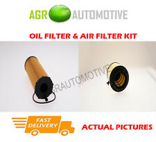 DIESEL SERVICE KIT OIL AIR FILTER FOR AUDI A4 2.7 190 BHP 2007-12