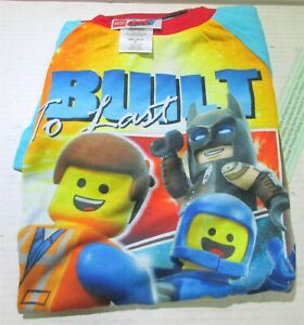 Boys' LEGO Movie 2 2pc Pajama Set size 8