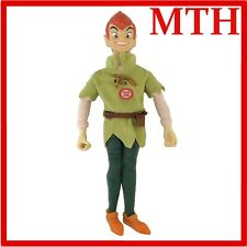 Peter Pan Plush Talking Toy Disney Vintage Soft 16'' Hard Head Very Rare - VGC