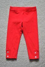 Gymboree Girls' Red Star Crop Leggings - Size 3-4