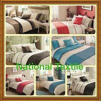 5pc bed in a bag.Duvet cover ,pillow cases ,bed runner and cushion cover,