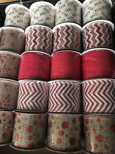Jute Ribbon . 2.7 Meters . Pick Which ! Wired . Ribbon