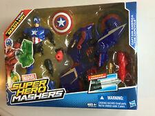 Marvel Super Hero Mashers Captain America Capcycle Vehicle NEW