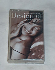 Design of a Decade 1986-1996 by Janet Jackson Cassette, Oct-1995, A&M USA