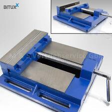 BITUXX Universal Maschinenschraubstock 200 Schraubstock für Säulen Bohrmaschine