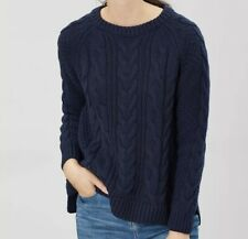 JOULES WOMENS DAWSON CABLE JUMPER - FRENCH NAVY SIZE 6