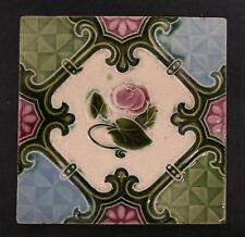 Art Nouveau Antique Tile