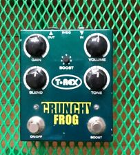 T-Rex Engineering Crunchy Frog Overdrive with Boost Guitar Effect Pedal