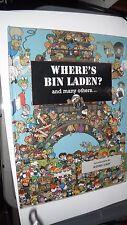 Where's Bin Laden by Daniel Lalic, Xavier Waterkeyn (Hardback)