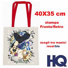Magi Aladdin Ugo Anime Borsa Borsetta Tessuto Shopper Bag 40X35 CM