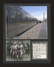 Vietnam Veterans War Memorial photo display