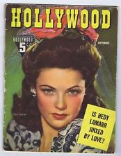 1942 HOLLYWOOD BEAUTIFUL GENE TIERNEY VG 4.0 NICE HEDY LAMAR