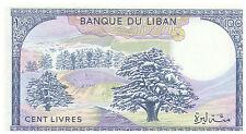 1983 100 Livres Banknote - Lebanon - Uncirculated Pick 66C