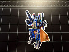 Transformers G1 Dirge box art vinyl decal sticker Decepticon jet 1980s 80s