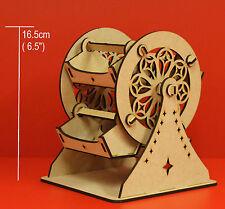 T20 MINI FERRIS WHEEL TABLE CENTRE PEICE  DECORATION MINI SWEET WHEEL MDF KIT