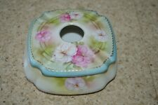 Vintage RS Germany R S Victorian Hair Receptacle Floral Reinhold Schlegelmilch