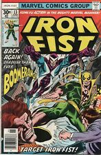 IRON FIST  #13  ( NM  9.4)  13TH ISSUE CGC GRADED AT ONE TIME NOW OUT OF CASE