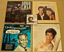 "NATALIE COLE, FAMILY & FRIENDS LP's:1 AUTOGRAPHED + 1 -12"" Extended Play  & 1 CD"