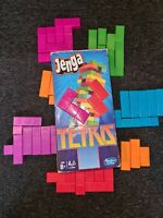 JENGA TETRIS | Family Game | Hasbro | Age 8+ | Perfect Condition