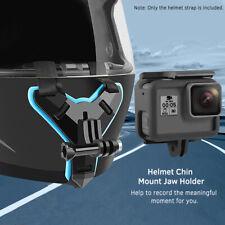 Full Face Helmet Chin Mount Jaw Holder Motorcycle Strap For Gopro Hero 8/7/6/5