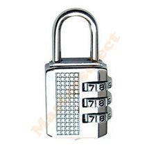 Petit cadenas à code chiffre combinaison programmable pour casier,bagage,valise