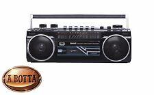 Radio Registratore con CASSETTA TREVI RR 501 BT Nero Bluetooth Stereo USB SD MP3