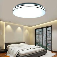 24W 15.7inch Round LED Ceiling Light Flush Mount Fixture Bedroom Kitchen Lamp US