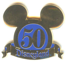 DLR Cast Exclusive 50th Anniversary Mickey Ears Pin Only!