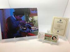 Zach Galligan Autograph 8X10 Gremlins Billy Peltzer Gizmo with COA #00086